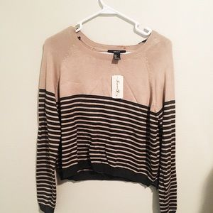 Tan Forever 21 Sweater
